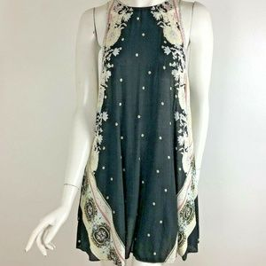 Intimately Free People M Floral Trapeze Dress Mini